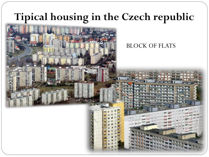 Tipical housing in the Czech republic