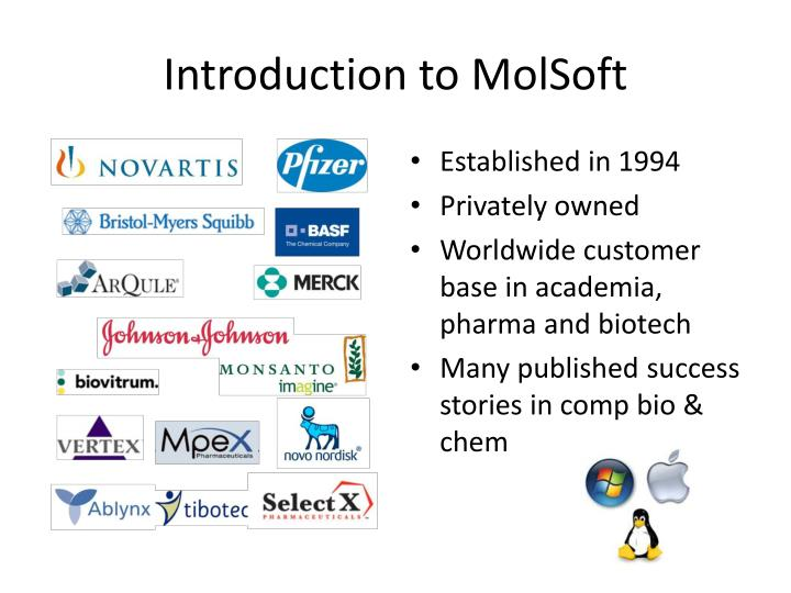 Introduction to molsoft