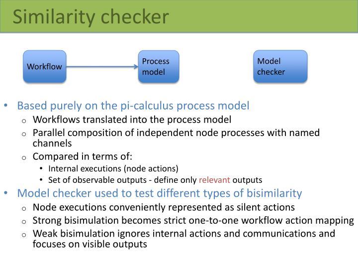 Similarity checker