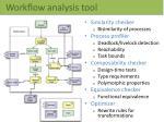 workflow analysis tool