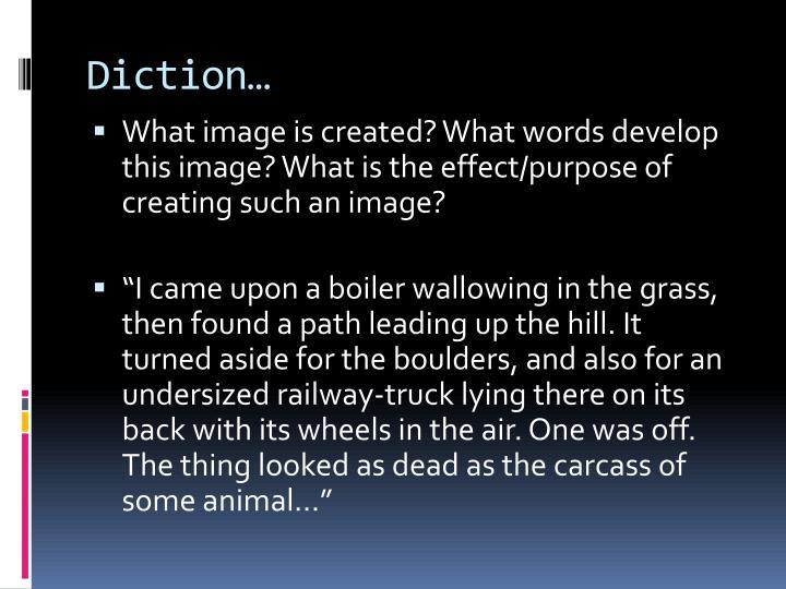Diction…