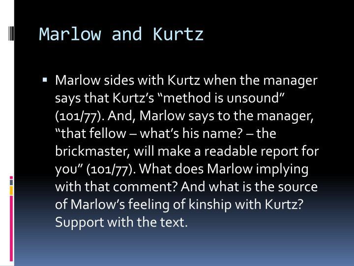 Marlow and Kurtz