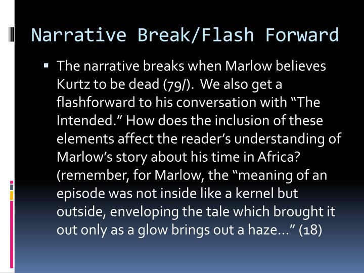 Narrative Break/Flash Forward