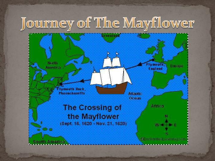 Journey of The Mayflower