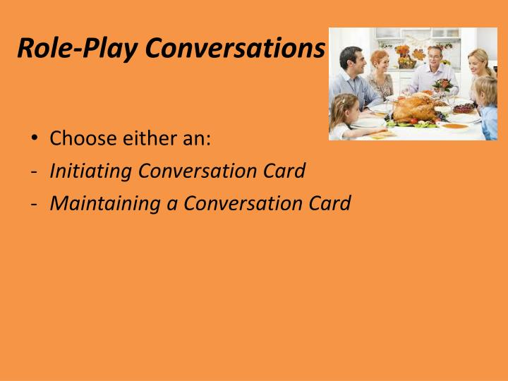 Role-Play Conversations
