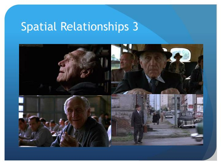 Spatial Relationships 3