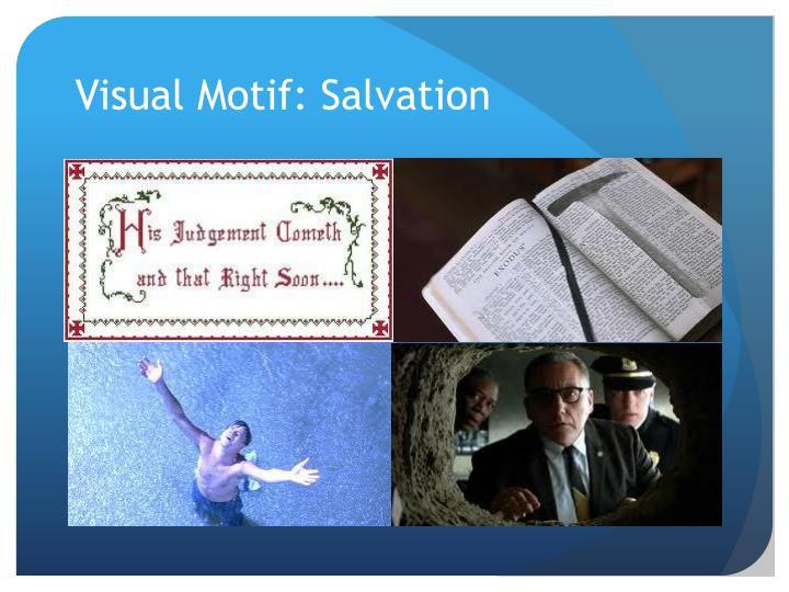 Visual Motif: Salvation