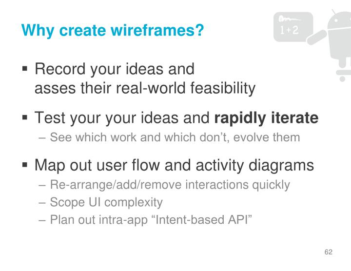 Why create wireframes?