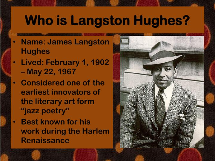 Who is Langston Hughes?