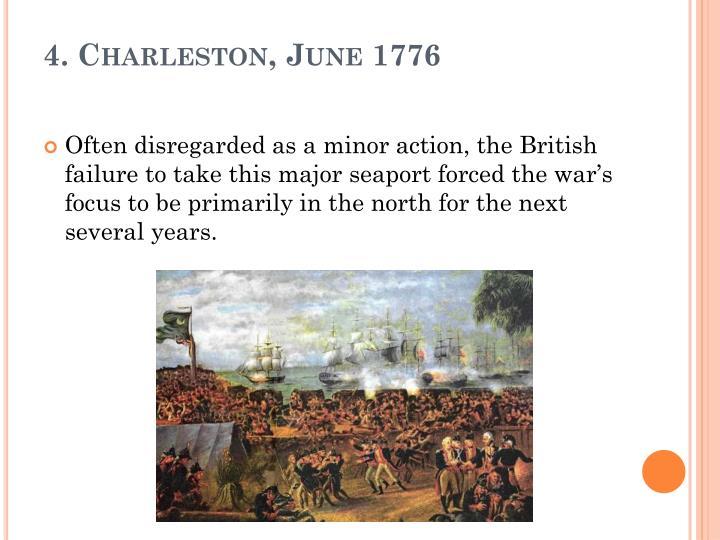 4. Charleston, June 1776