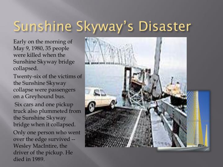 Sunshine Skyway's Disaster