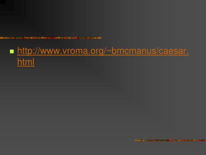 http://www.vroma.org/~bmcmanus/caesar.html