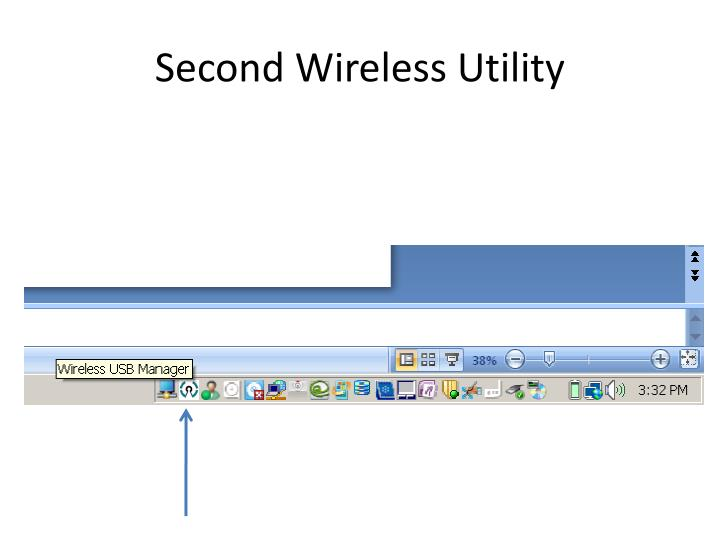 Second Wireless Utility