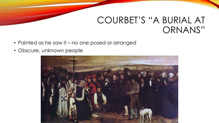 "Courbet's ""A Burial at"