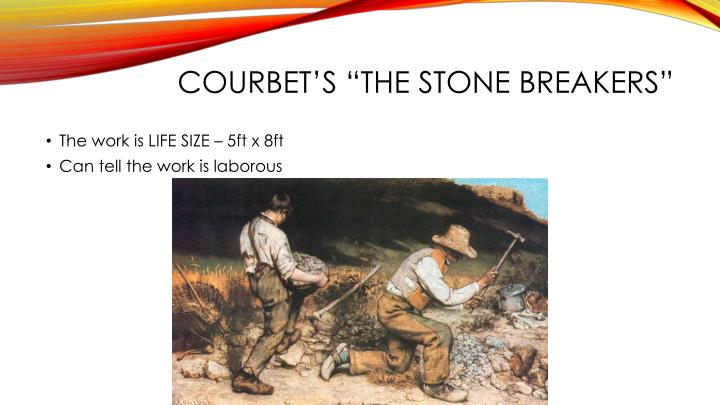 "Courbet's ""The Stone Breakers"""