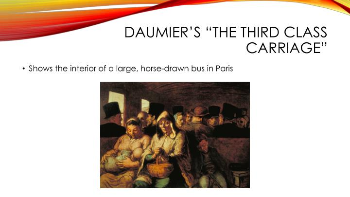 "Daumier's ""The Third Class Carriage"""