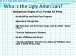 who is the ugly american