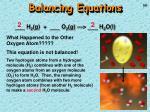 balancing equations1