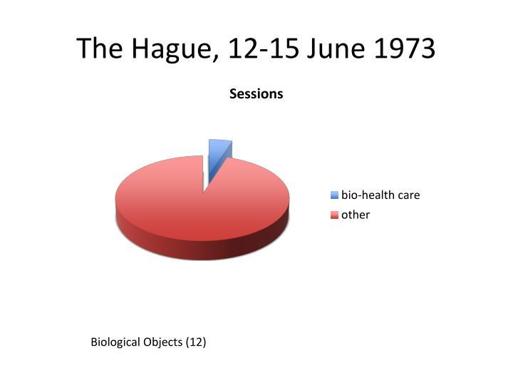 The Hague, 12-15 June 1973