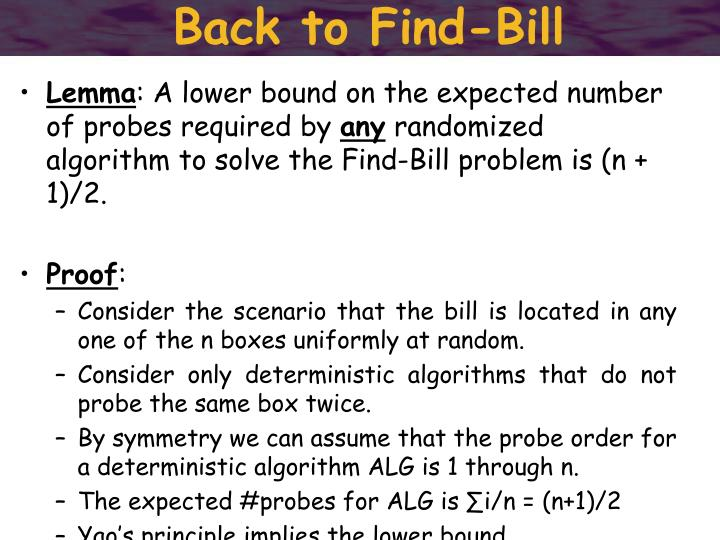 Back to Find-Bill