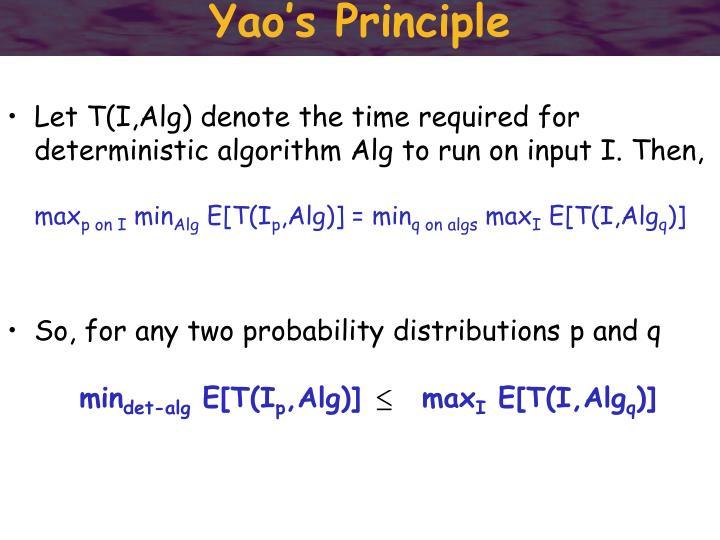 Yao's