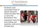 3 rd amendment quartering act1