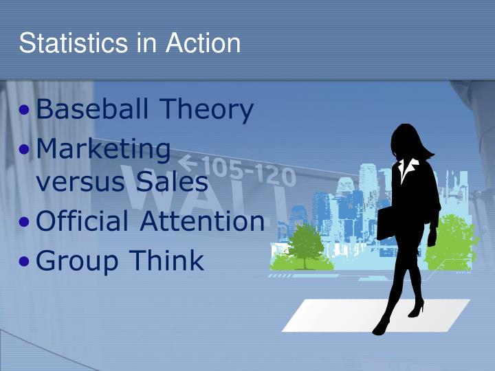 Statistics in Action