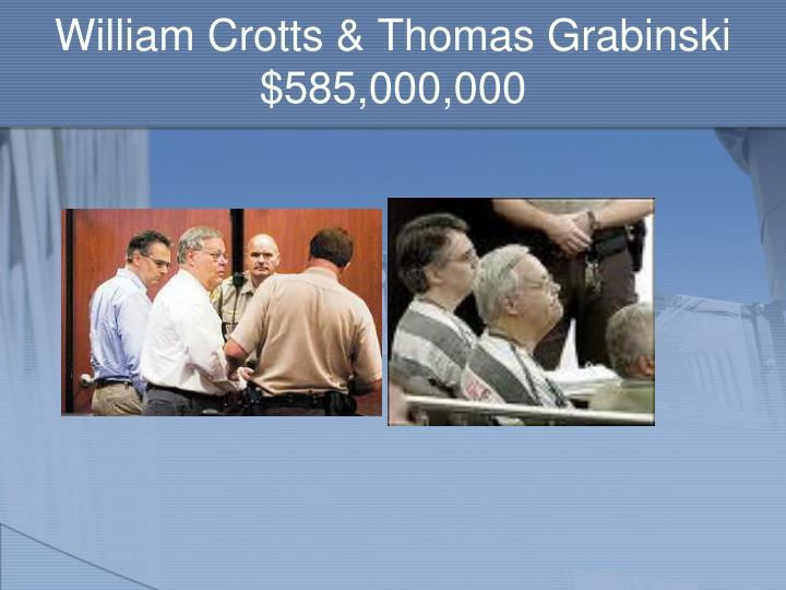 William Crotts & Thomas Grabinski