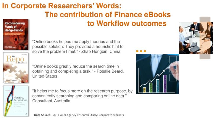 In Corporate Researchers' Words: