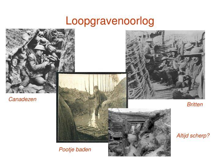 Loopgravenoorlog