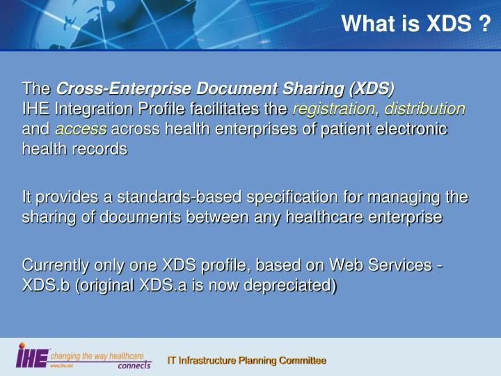 What is xds
