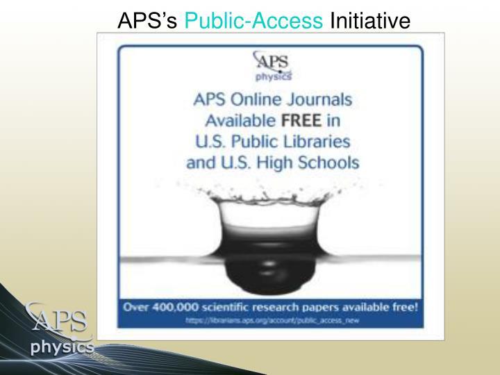 APS's