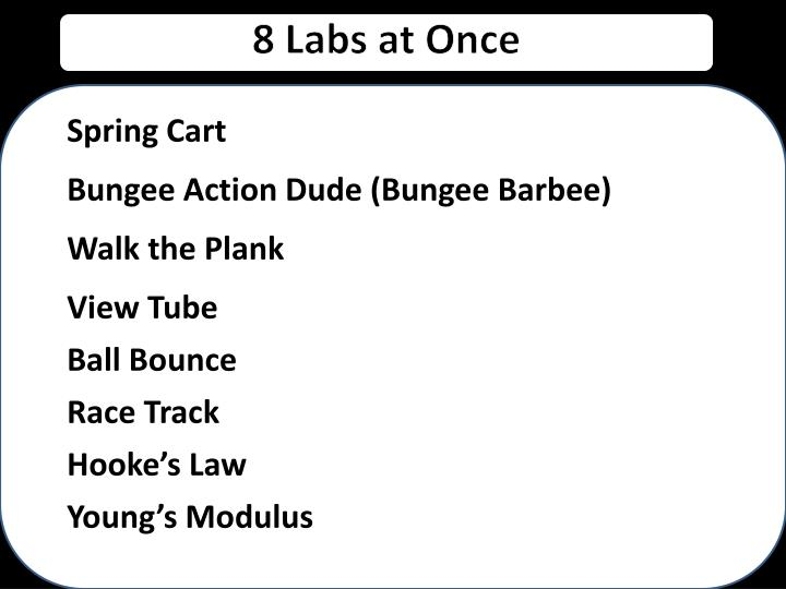 8 Labs at Once