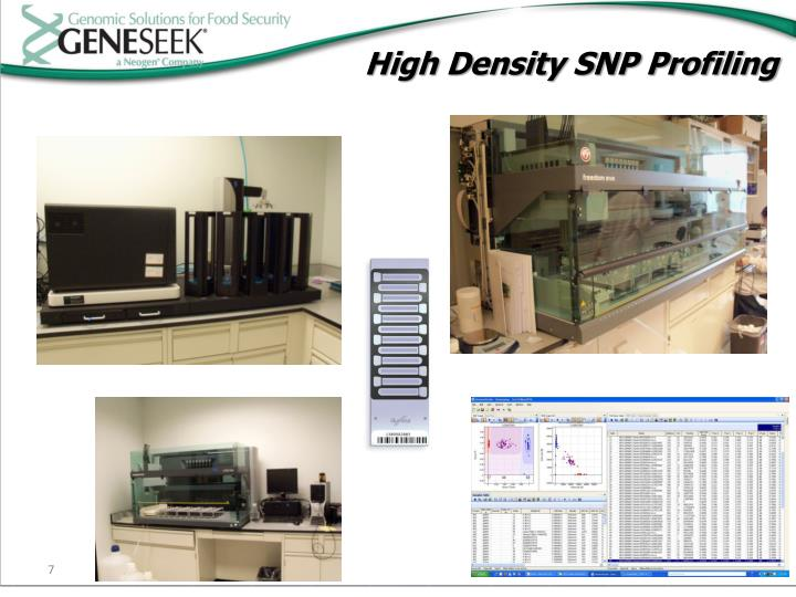 High Density SNP Profiling
