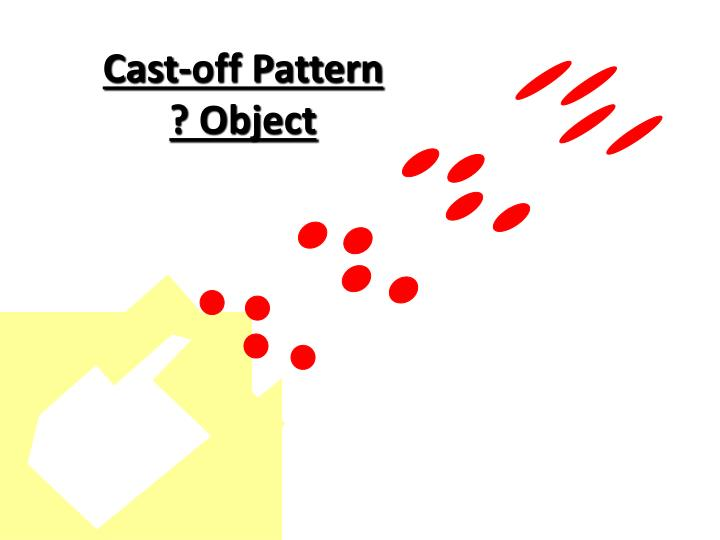 Cast-off Pattern