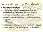 issues 1 w the constitution