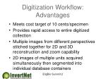 digitization workflow advantages