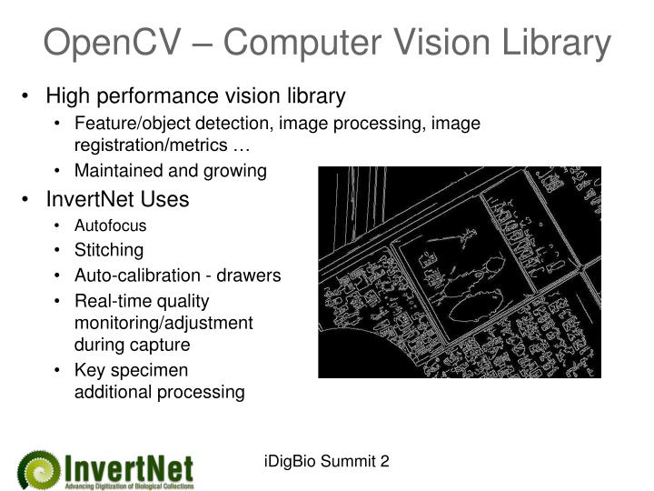 OpenCV – Computer Vision Library