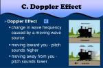 c doppler effect
