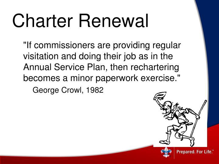 Charter Renewal