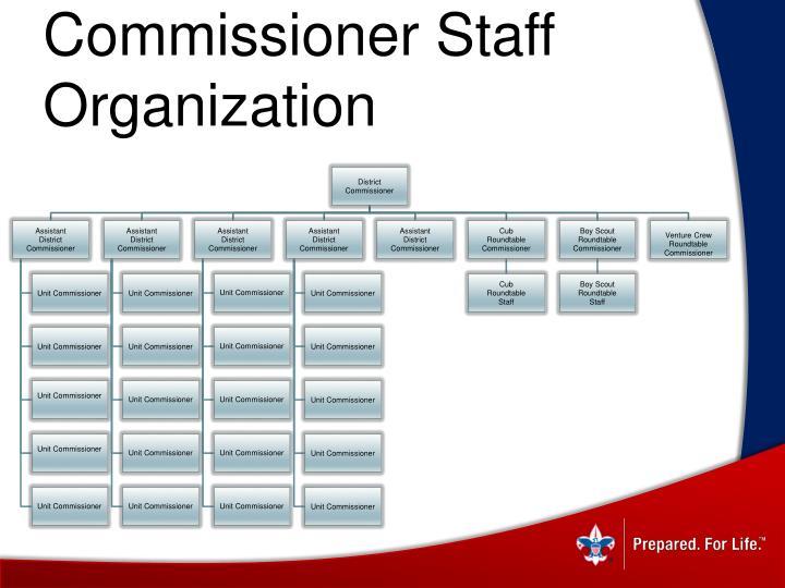 Commissioner Staff Organization