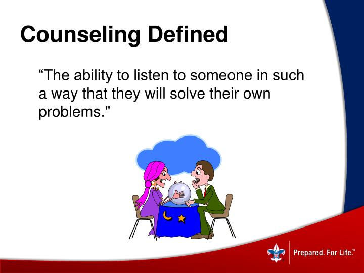 Counseling Defined