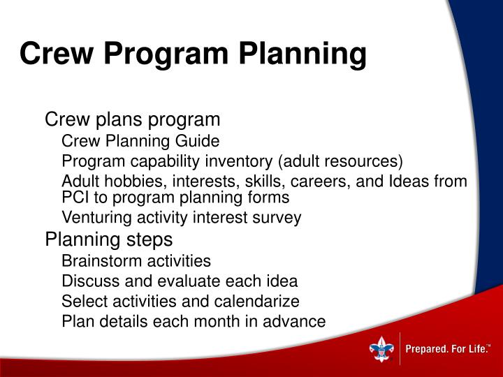 Crew Program