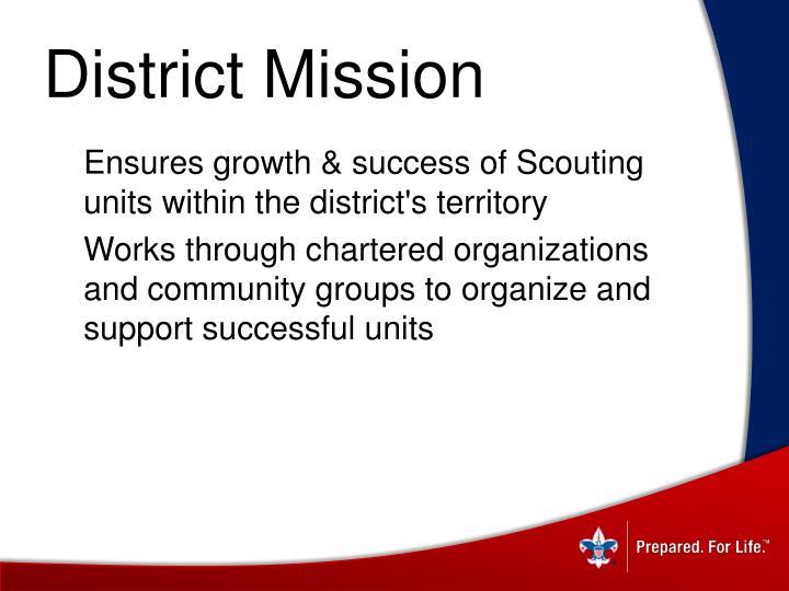 District Mission