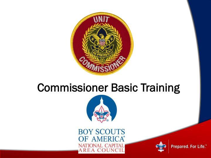 Commissioner Basic Training