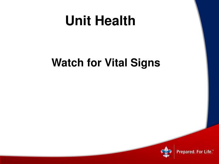 Unit Health