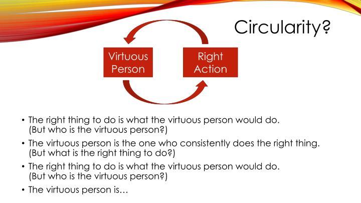 Circularity?