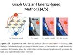 graph cuts and energy based methods 4 5