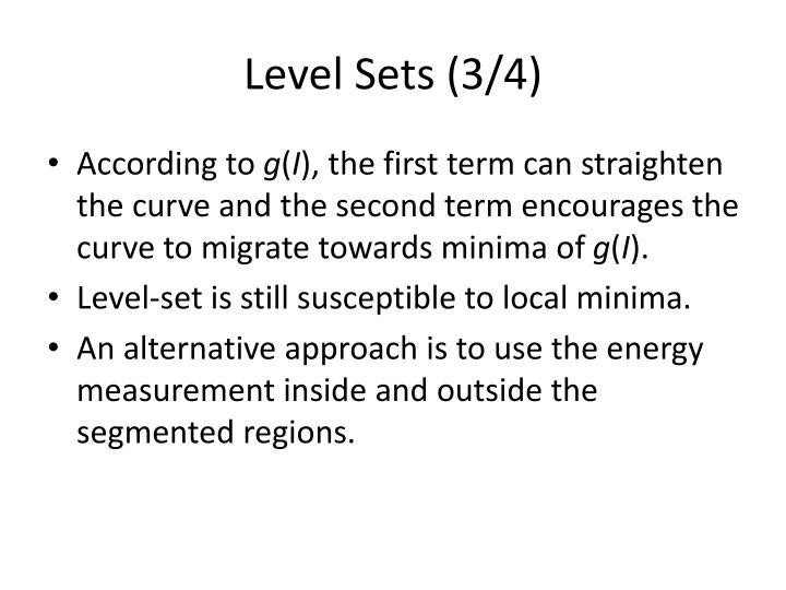 Level Sets (3/4)