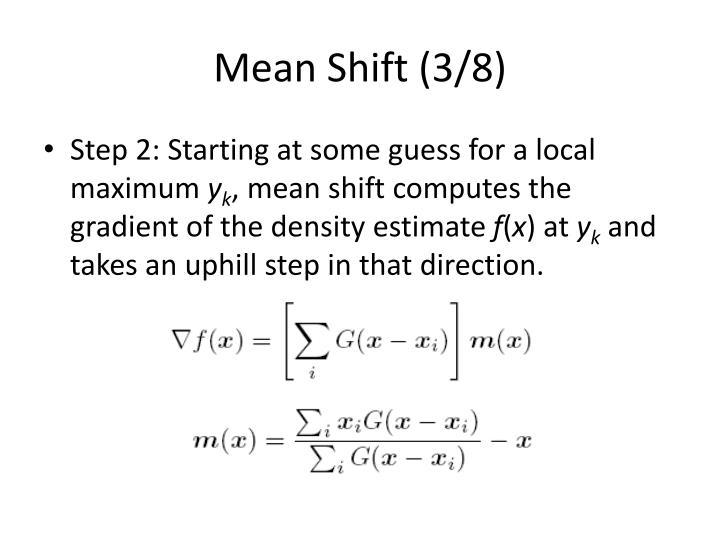 Mean Shift (3/8)